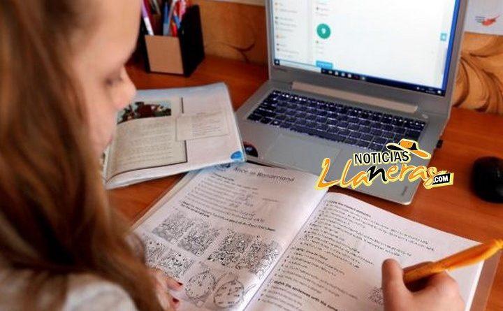 Villavicencio inició año académico con clases virtuales