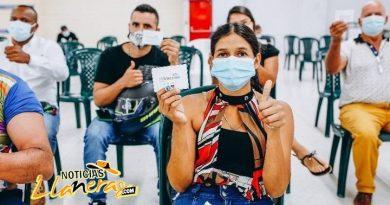 En Villavicencio se está aplicando hoy la Vacuna Janssen para mayores de 18 años