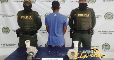 Un hombre fue capturado por el delito de hurto en Puerto Carreño