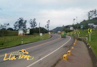 Vía Bogotá – Villavicencio tendrá cierres totales durante 7 días de 11:00 pm a 4:00 am